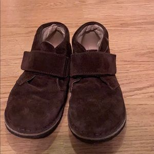 Naturino Brown Suede Velcro Chukka Boots size 11